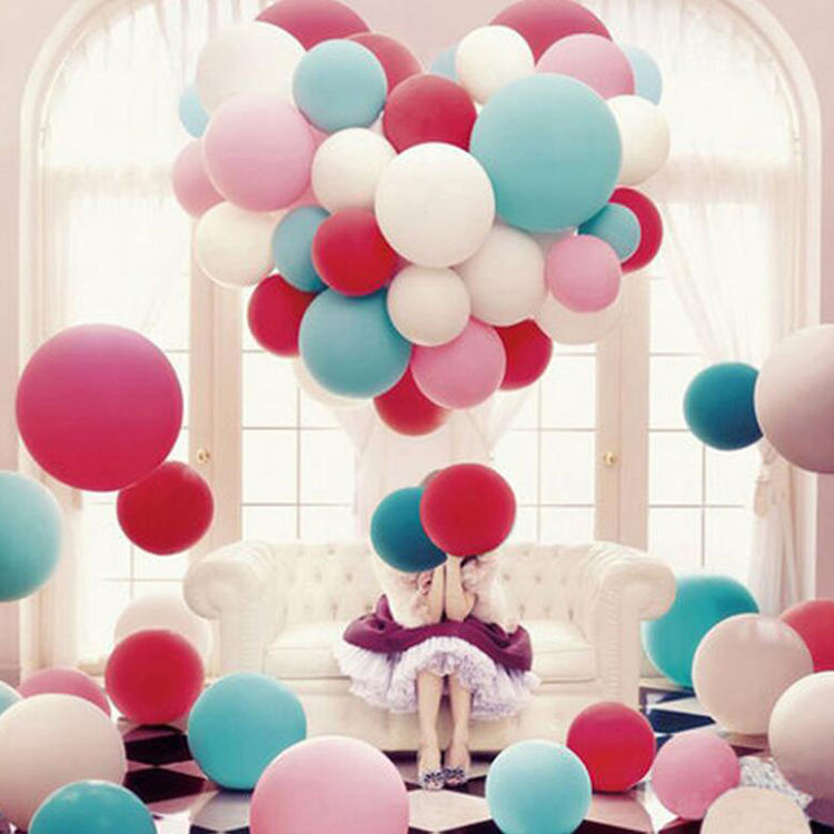 Wedding party decoration Matte round balloon Courtship balloon