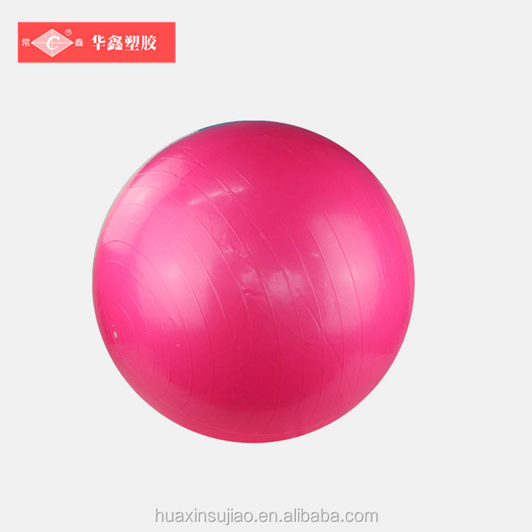 Venda quente pvc ginásio pilates bola made in china