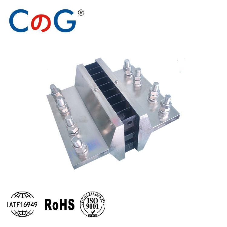 CG Akım şant direnç FL-2 6000A Şant Gerilim Düşüşü: 75mV Direnç Amp Metre