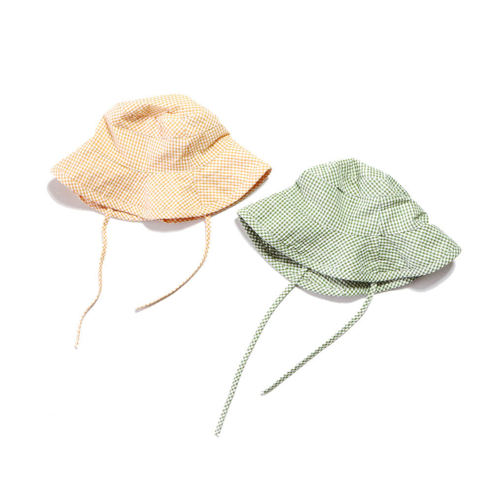 Summer Kids Sun Protection Sunshade Fisherman Hat Baby Sun Hat Basin Hat
