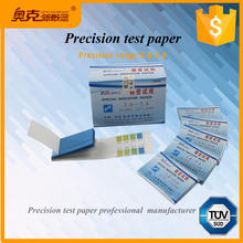 Visual rapid special pH test strips / kits 3.8-5.4