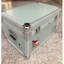 Factory Hard Aluminum Briefcase Box with Foam Padding or Dividers