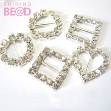 safety wedding metal buckle various shape for hair and bag supplier
