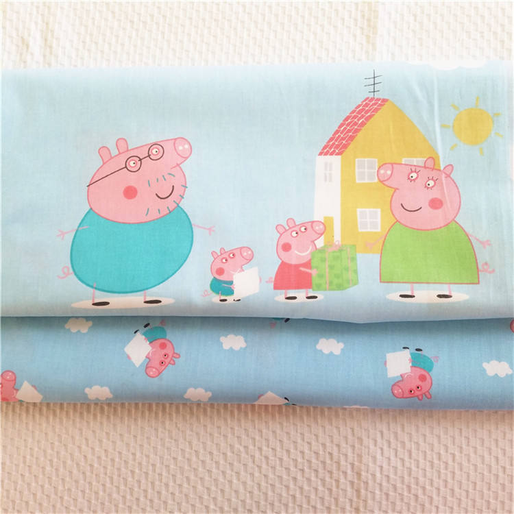 Hot Sale Sewing Patchwork 100% Cotton Fabric for Bedding DIY Baby Cloth