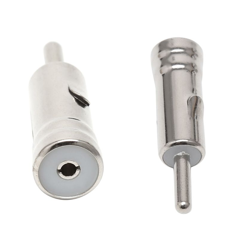 New Car Male Plug AM FM Radio Antenna Cable Adapters Connectors