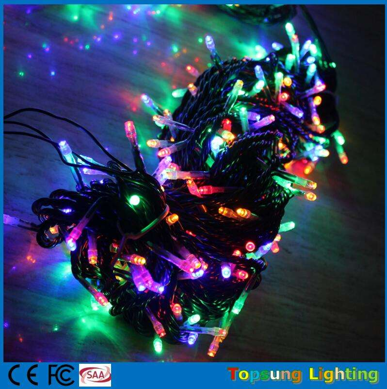 100 ft connectable rgb twinkle luci led natale 300 led Manufacturer 30m strings