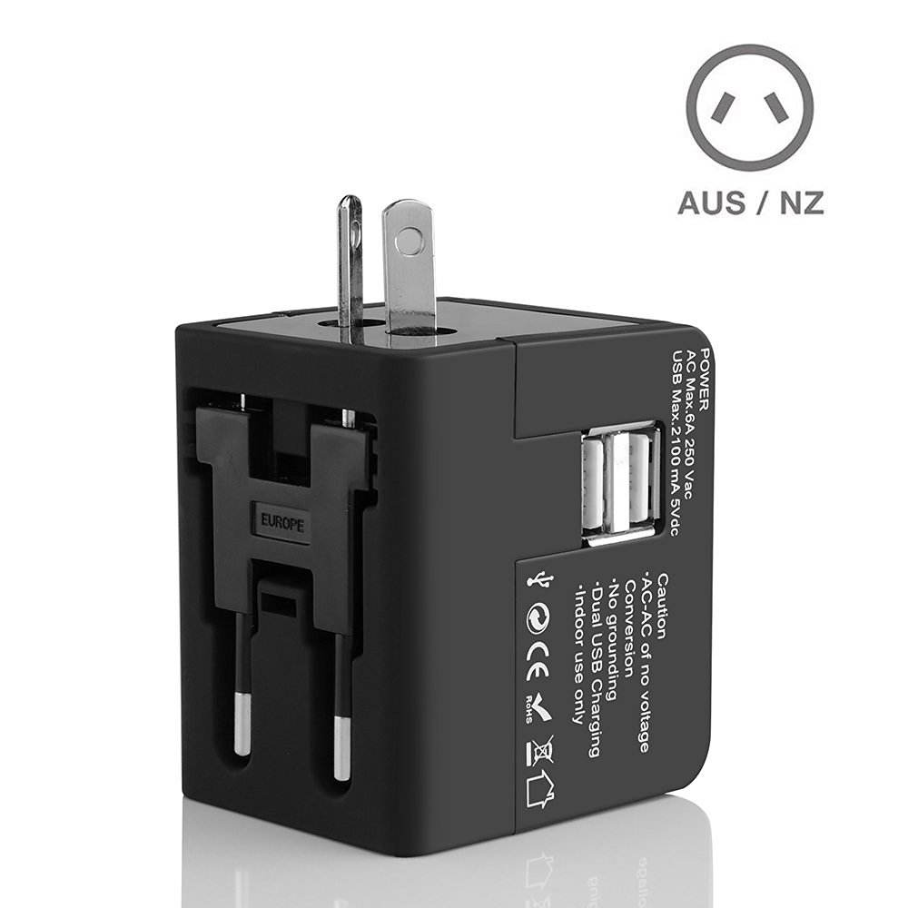 Travel Birthday Gift Promotional Gift Items Birthday Gift Promotion Gift/wedding Gift/gift Item Business Gift Dual USB Smart Travel Adapter Gift Set