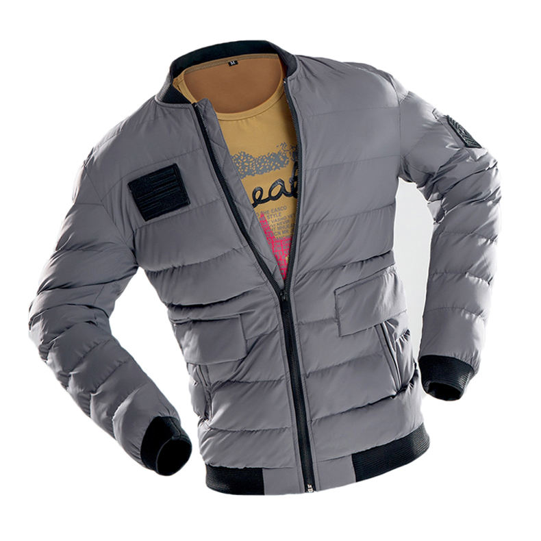 Homens Jaket Inverno Jacket Tactical Ocidental Peso Leve Para Baixo Casacos Plus Size