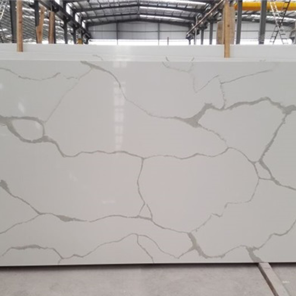 hot sale calacatta quartz slab price