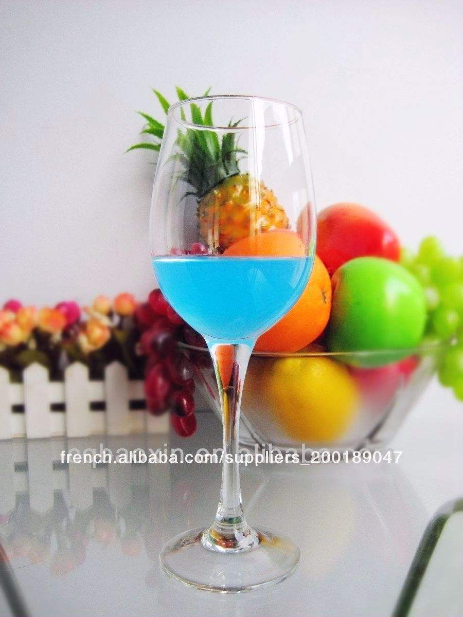 Libbey verrerie claire haut. rouge./tasse en verre de vin blanc de la chine usine 13oz/390ml