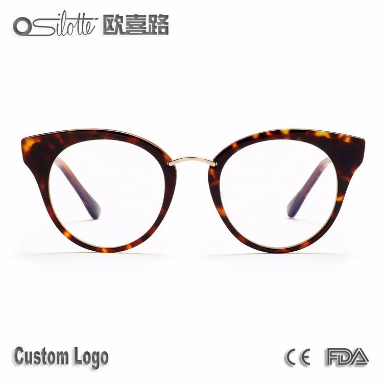 Round eyewear reckless wholesale memory flex eyeglasses optical frame