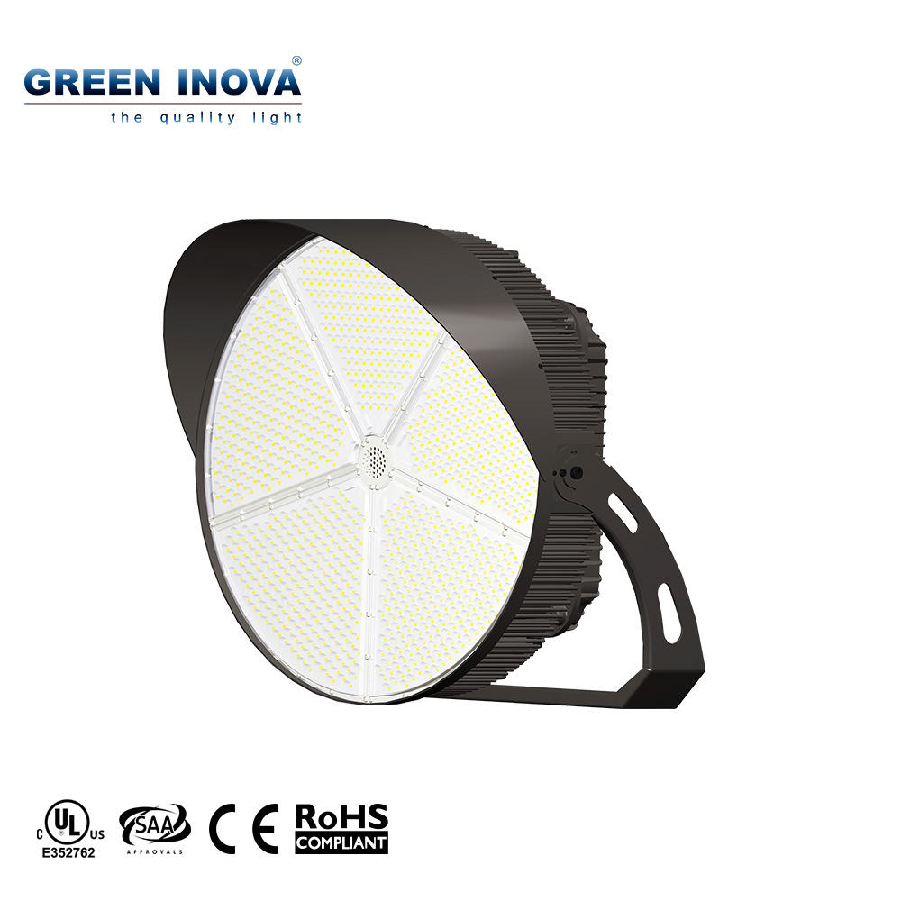 IP67 Zigbbe Smart Control asymmetric Sport Light 1000W LED Stadium Light LED flood light for sports arenas
