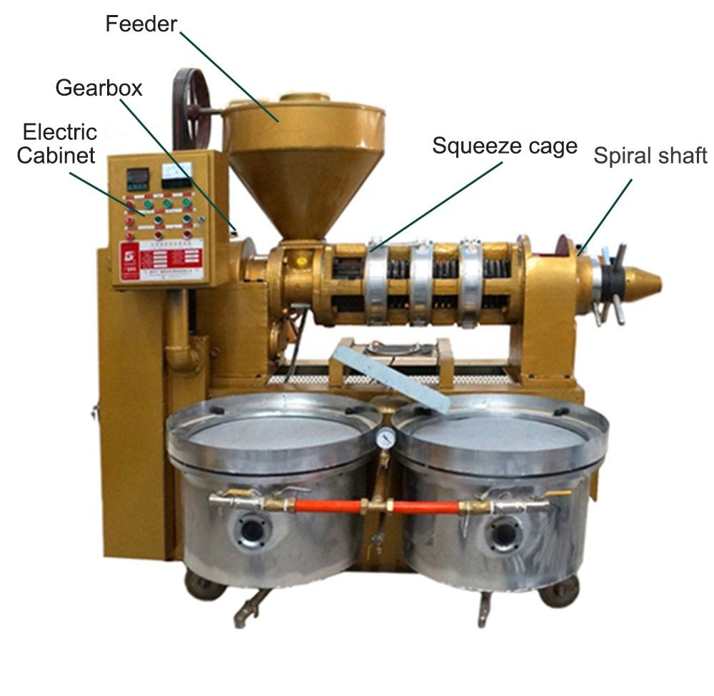 Vele Type Zaad Sesamolie Extractie Machine Met <span class=keywords><strong>Olie</strong></span> Filter Machine