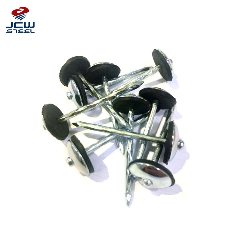 Qingdao Nails Manufacturer Zinc Umbrella Roofing Nails from China