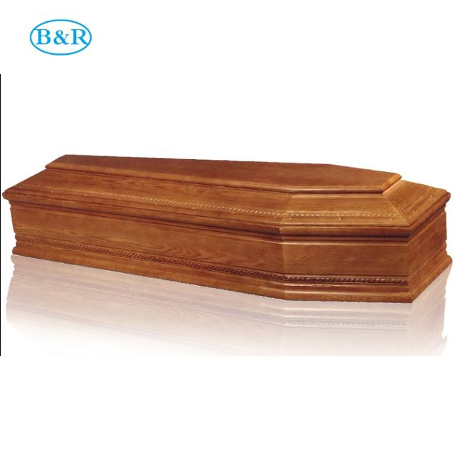 IT012 Top sales houten coffin afmetingen 25 cm chin doodskisten