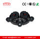 STEK 2019 Air disc brake for leather slitting machine for roll stand - longest pad life, no squealing alternative TWINFLEX