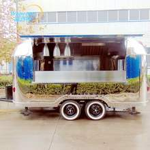 Customized mobile electric ice cream food truck kitchen trailer/ vans/ shopping carts