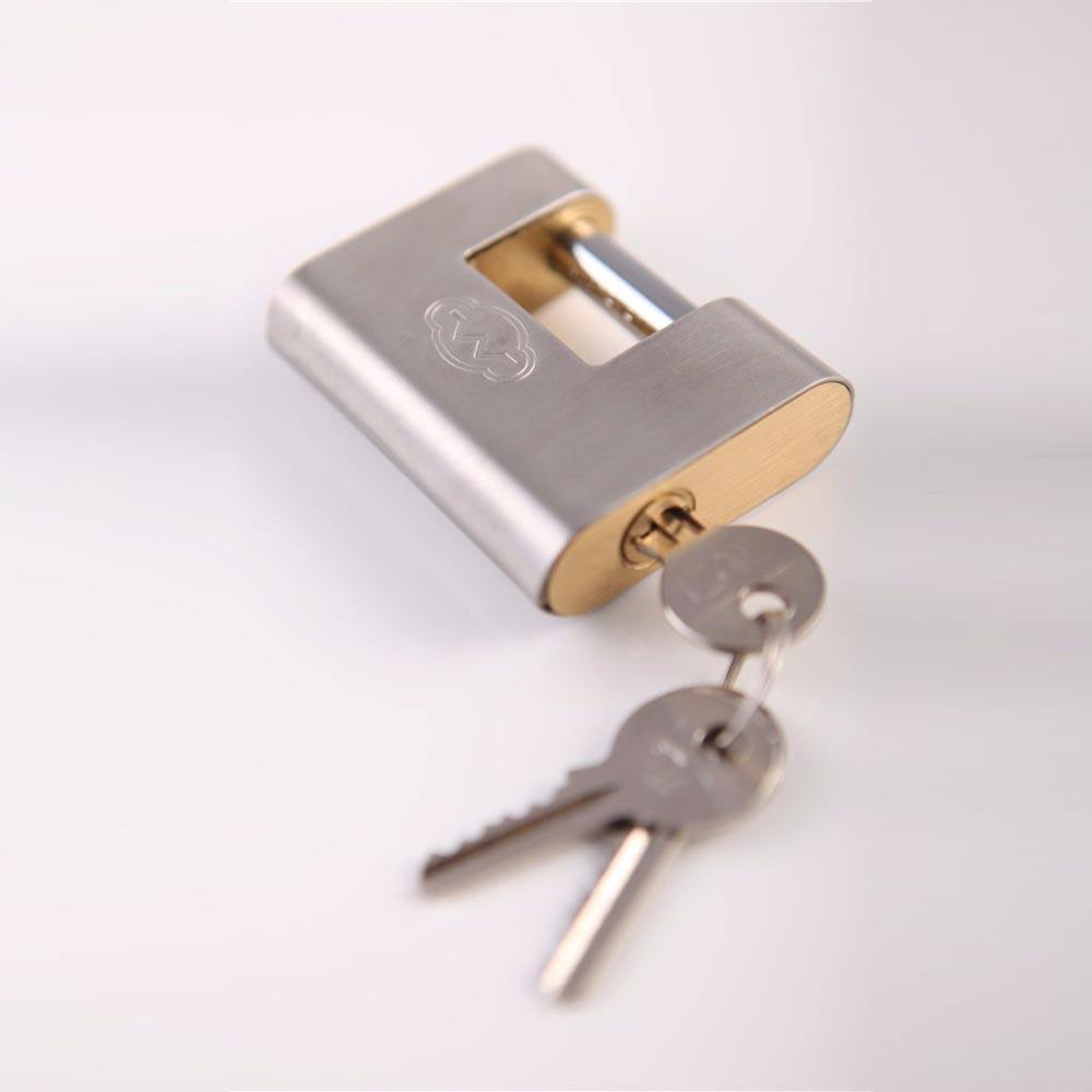 Wholesale prices different types many colors armored shell brass lock