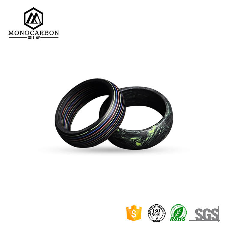 Wholesale Price Fashion Carbon Jewelry Tat Ring for Men