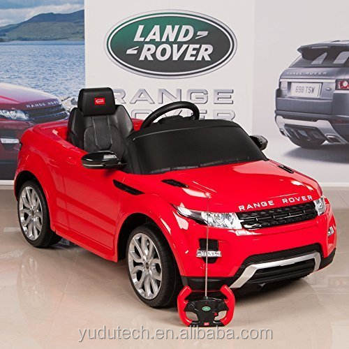 Range Rover Evoque 12 v Battery Operated/Remote Controlled Ride On Car w/Mat e Portachiavi,