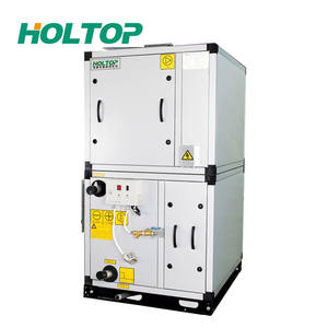 Low Power Consumption Small Hydronic Air Handler With Heat Wheel