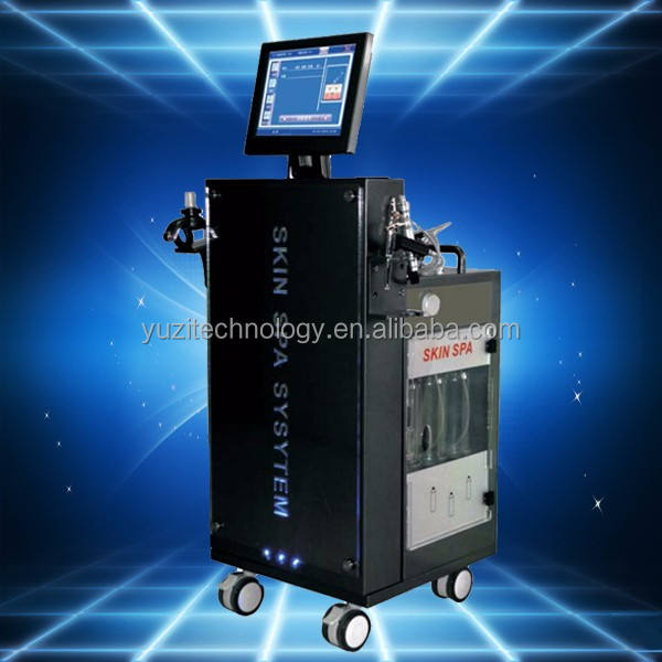 YUZItechnology Almighty oxygen hydro dermabrasion water oxygen jet peel machine for skin care