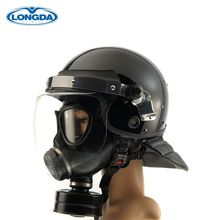 High quality force military police standard safety riot helmet