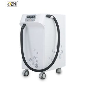 Low temperature cold air machine comfortable skin cooling machine for laser treatment
