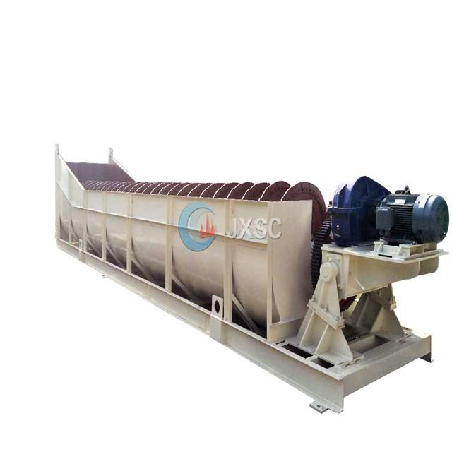 10TPH Good Quality Supplier Mini Spiral Screening River Sand Gold Washing Recycling Machine