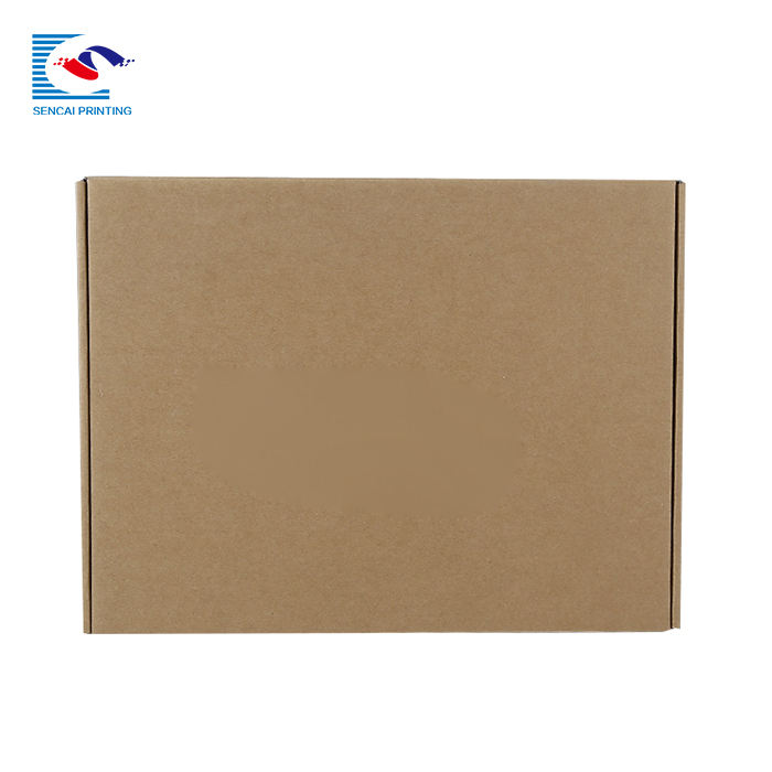 SENCAI free sample custom printing carton box parkas packaging corrugated paper box