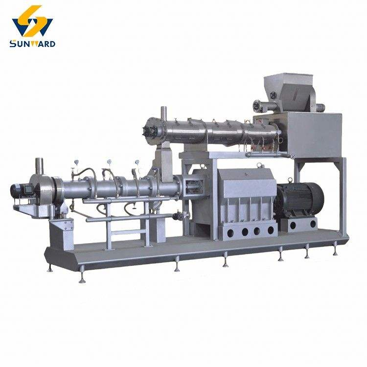 Top selling small floating fish feed meal fodder pellet extruder machine price