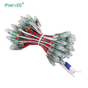 50pieces per Chain 12mm WS2811 IC pixel rgb led node light