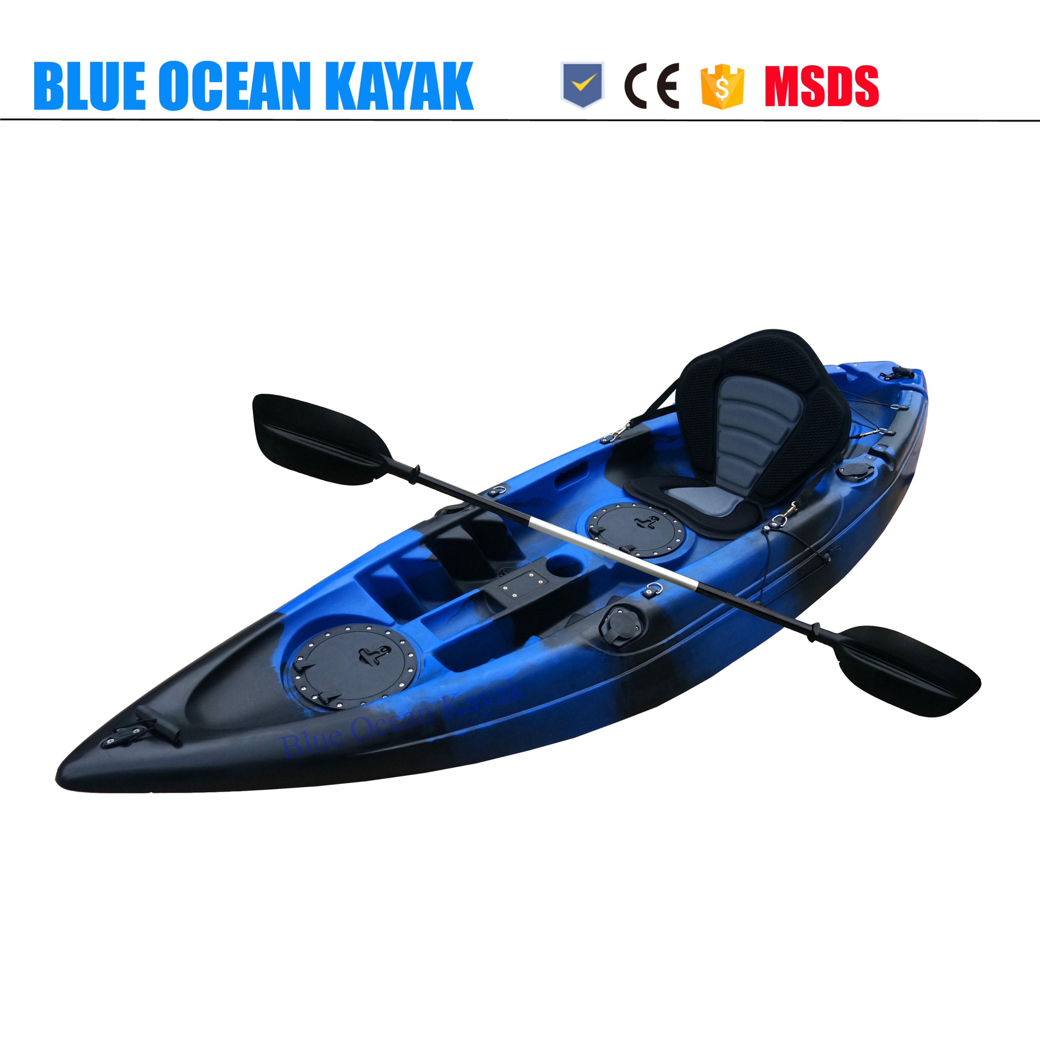 Tiefe blau fantasie Einzel Angeln <span class=keywords><strong>Kajak</strong></span>/Kanu/Boatwith <span class=keywords><strong>Motor</strong></span> halterung