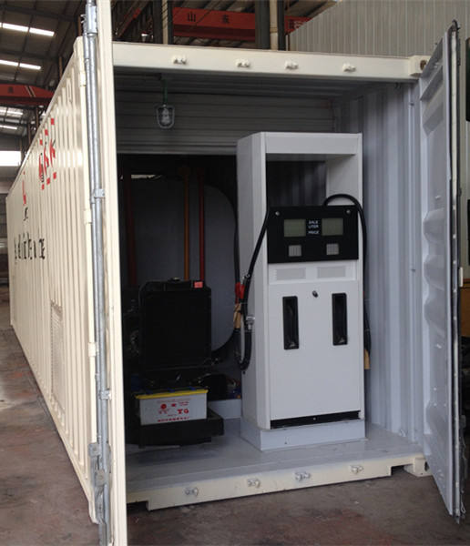 Containerized mobile fuel stations/container mobile petrol station/ fuel dispenser pump