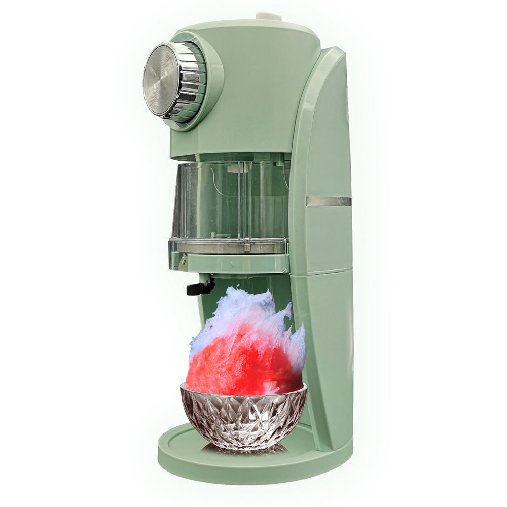Electric Ice Shaver Machine Shaved Ice Snow Cones Snow Flakes Maker Crusher