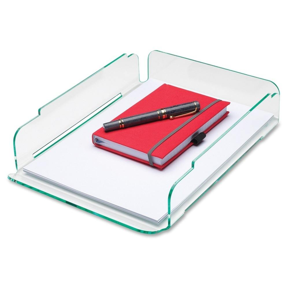 Acrylic Stacking Letter Tray, Clear Acrylic A4 Letter File Tray