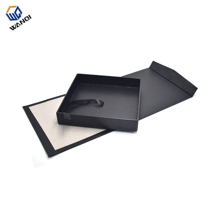 Fashion custom luxury men branded cardboard photo frame gift box