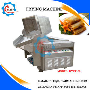 Automatic Food Snack Frying Equipment For Fish Fryer