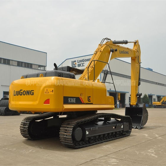 Heavy duty Liugong 50ton CLG950E hydraulic crawler excavator for mining usage
