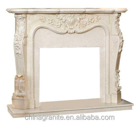 indoor hand carved beautiful marble fireplace