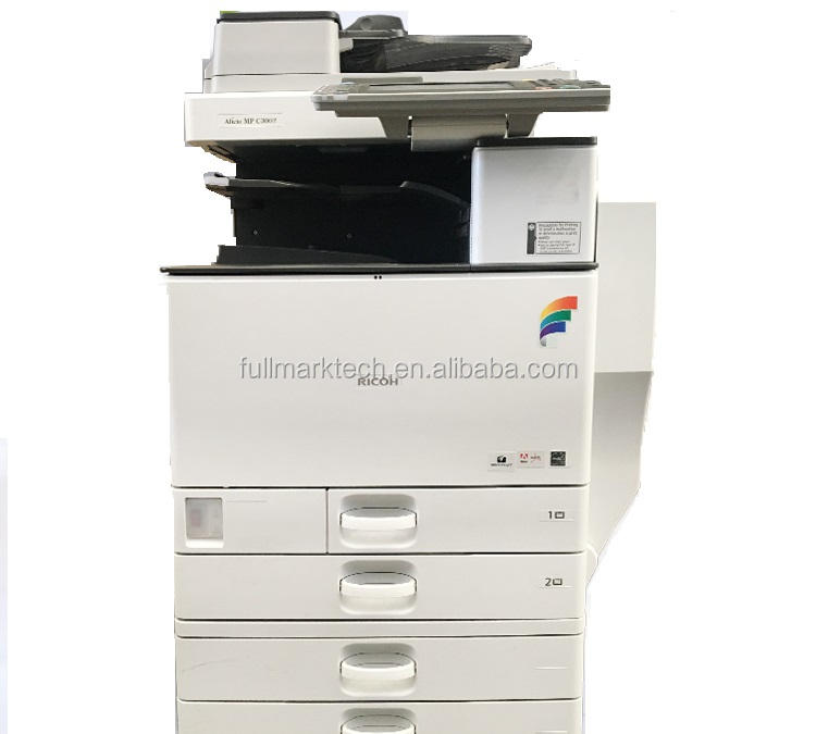 used ricoh copier machine mpc 4502 color photocopy printing copiers