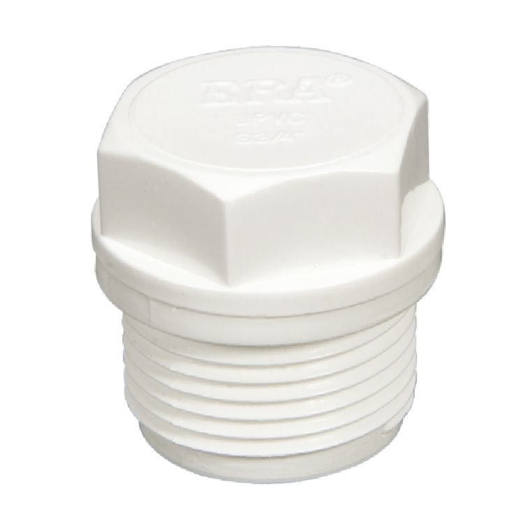 ERA DIN Standard Plastic/PVC PN10 pipe fittings Male Thread Plug with DVGW Certificate