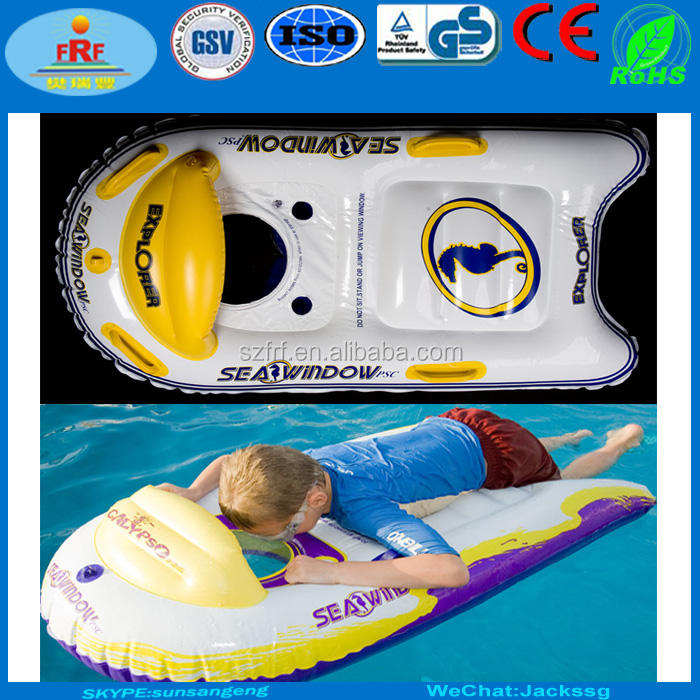 Sea Window Inflatable Explorer Lặn Với Ống Thở