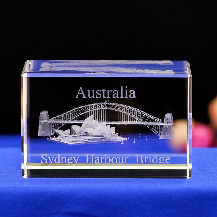 3d Laser Engraving Glass Cube Photo Engraved Cube Cheaper Crystal Cube for Gift