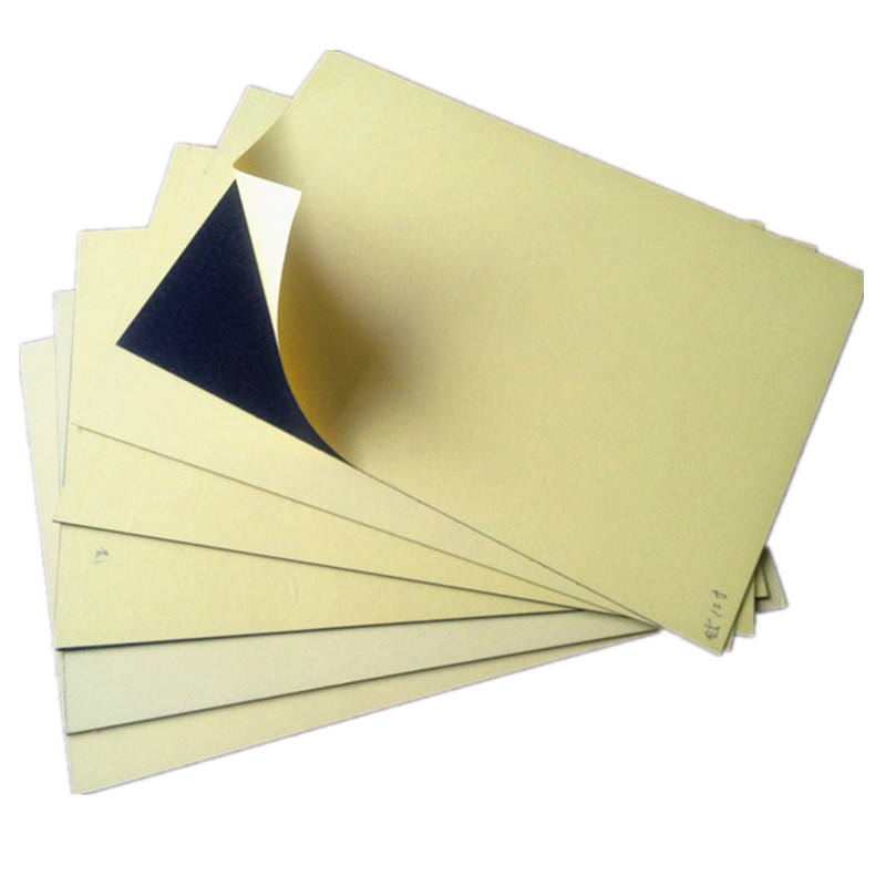 Adhesive photo album inner sheet pvc material