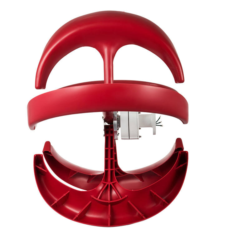 400w Small Wind Turbine Red Lantern Style Permanent Magnet Wind Generator