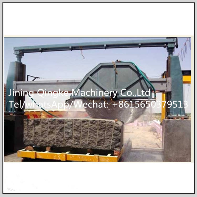 Granite disc saw stone cutting machine with high precision