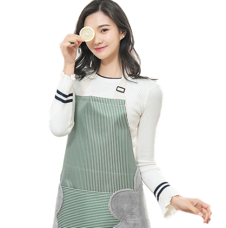 Abrasion hand apron Japanese waterproof and oil-proof cooking hoods Kitchen fashion home adult