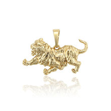 34289 xuping animals element jewelry, accessories brass alloy leopard charm