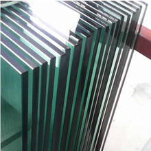 China tempered construction glass cost per square foot safety tempered glass panels price